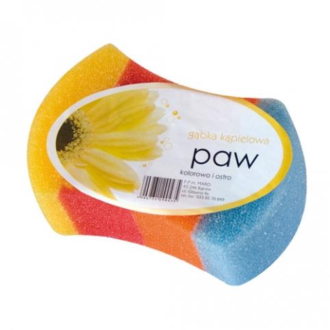 Paw Schwamm, farbig und scharf