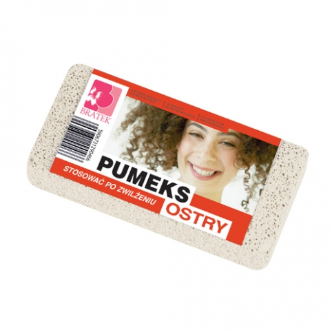White Pumice Stone Sharp Big