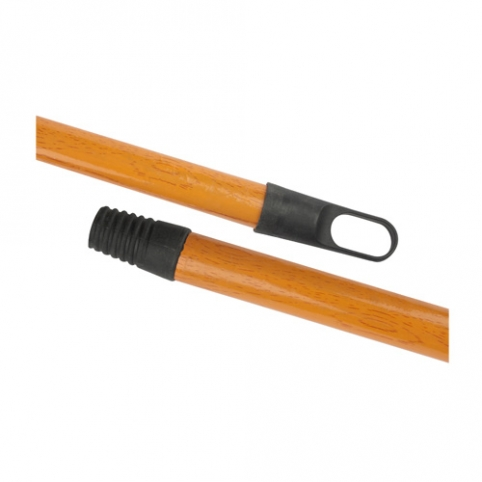 Wooden Broom Handle Covered PCV, 120 cm