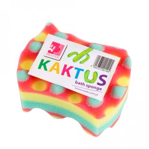 Губка для купания KAKTUS