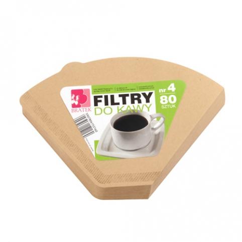 Kaffeefilter nr 4 80 stück
