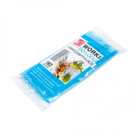 Ice Cube Bags- self sealing 192 cubes