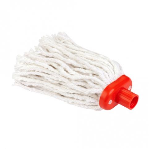 Końcówka mop 4 sznurek b. długi czerwony