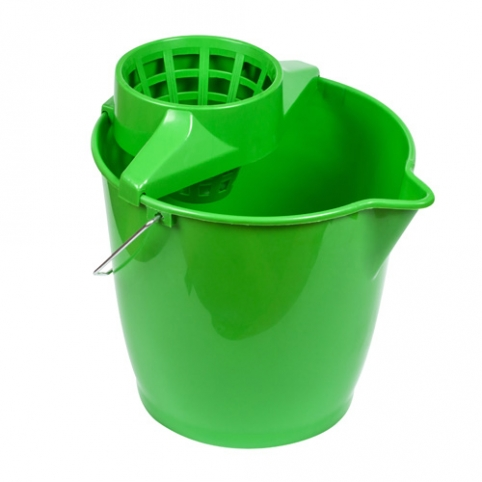 Round  Bucket with Wringer 12L