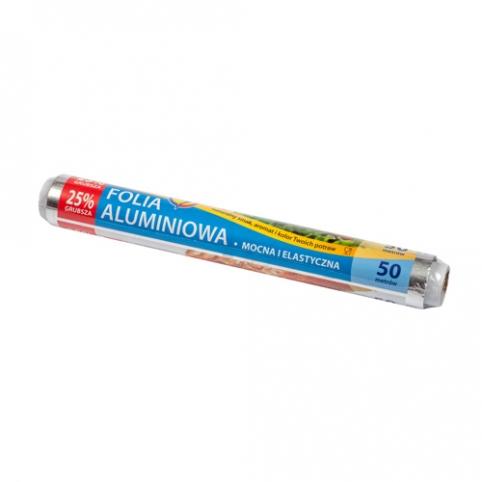 Folia aluminiowa super mocna 50m