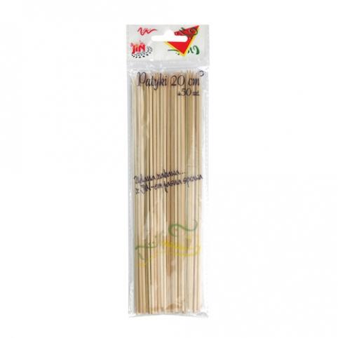 Šašlikovē dřevěnē špízy 50 kusů