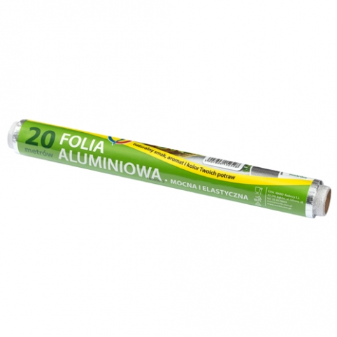 Folia aluminiowa tłoczona 20m