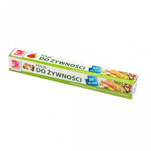 Potravinová folie 30m,  kartonová krabice