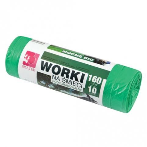 Worki biodegradowalne 160l 10 szt