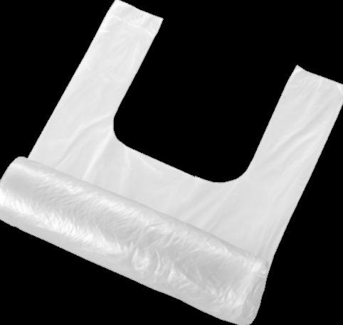 Reklamówki foliowe rolka 5 kg 11 mikronów, 100 sztuk