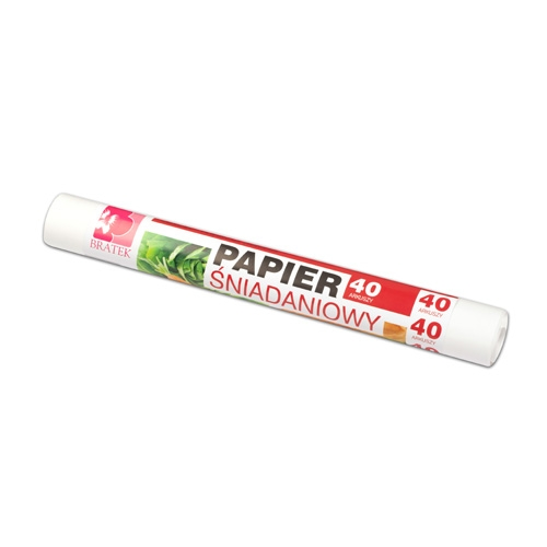Greesproof Lunch Paper  Roll, 40 PCS