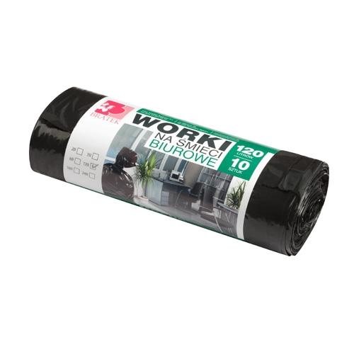 Пакеты для мусора 120л  10шт LDPE