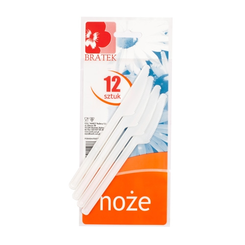 Knife  Plastic, 12  items