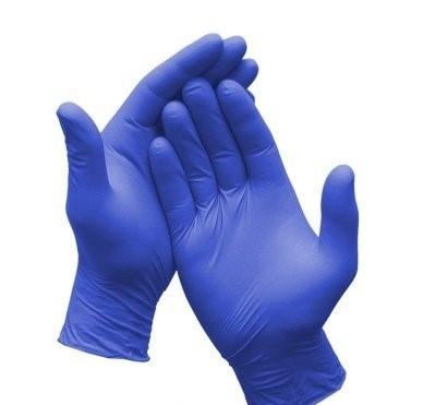 Rękawice Nitrylowe 100 sztuk S